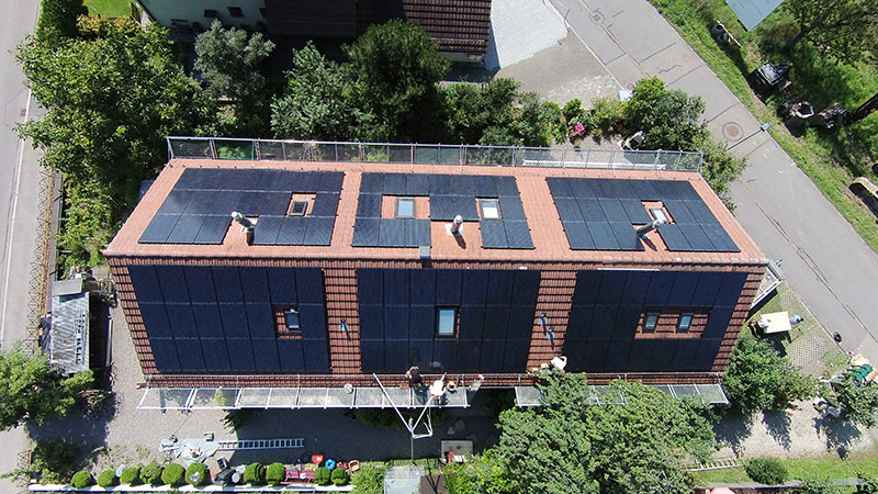 solar rackingproject for pitched roof types