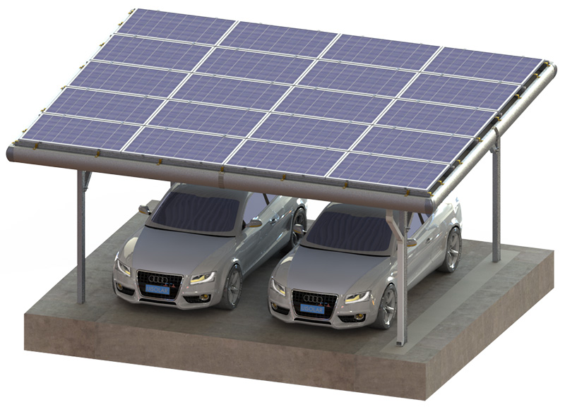 Waterproof Carport solar panel