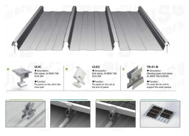standing seam roof mount