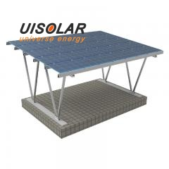 Solar carport mount structure solar panel pv